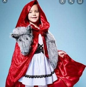 Little Red Riding Hood Complete Costume sz 6
